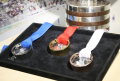 PRECIOSA Medals for the 2015 IIHF Ice Hockey World Championship