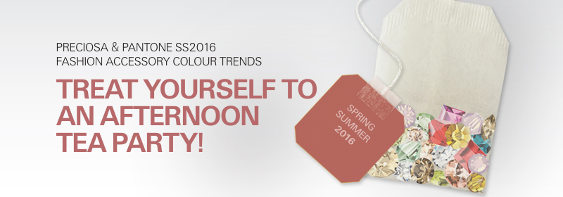 PRECIOSA and PANTONE SS2016 Colour Trends,
