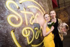 Winning couple - Marie Doležalová a Marek Zelinka
