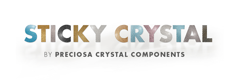 Sticky Crystal by PRECIOSA Crystal Components