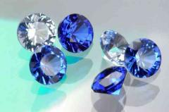 Blue Spinels