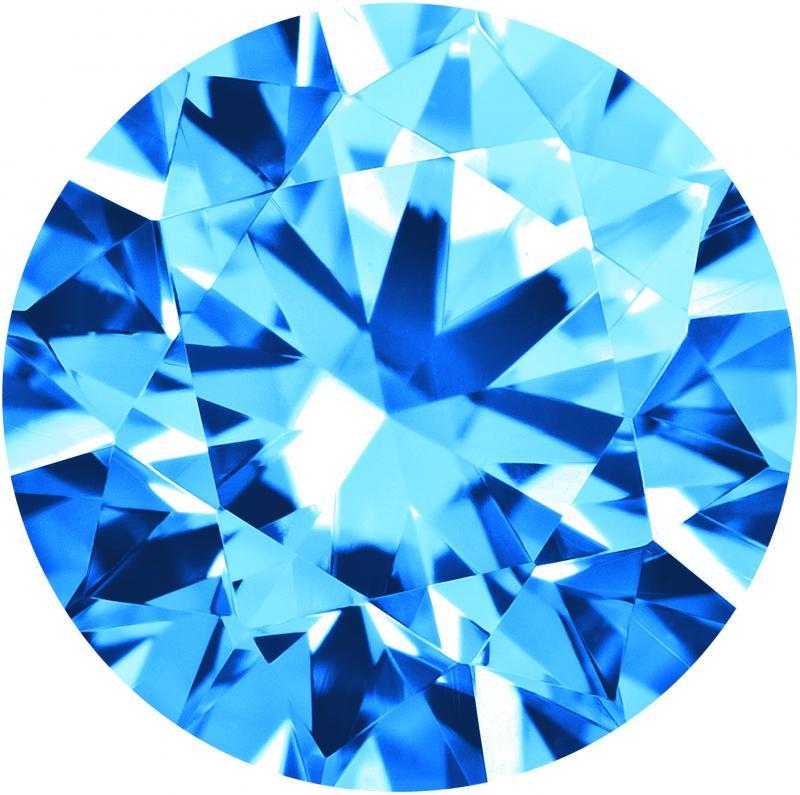CZ - Topaz Swiss Blue