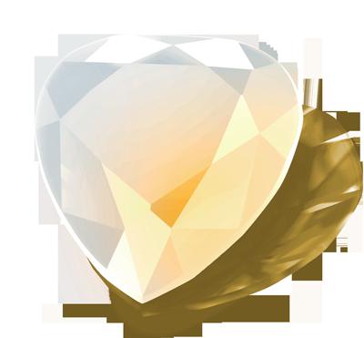 Opal Yellow White